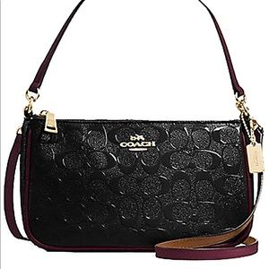 Authentic Coach handbag/crossbody black